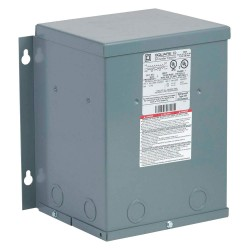 Square D - 2S51F - Wall-Mount 600VAC General Purpose Transformer, 2kVA, 120/240VAC Output Voltage