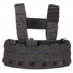 5.11 Tactical - 56061 - Tactec Chest Rig, Black, 500D Nylon