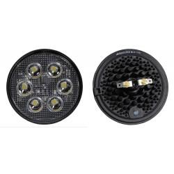 Maxxima / Panor - MWL-12-KIT - Work Lamp, Angled, Round, White