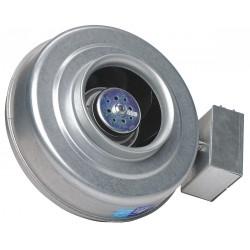 Fantech - FG 6M EC - Galvanized Steel Centrifugal Inline Duct Fan, Fits Duct Dia. 6, Voltage 120V