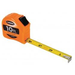 Keson - PGT1810V - 10 ft. Steel SAE Tape Measure, Orange