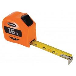 Keson - PGT1816V - 16 ft. Steel SAE Tape Measure, Orange