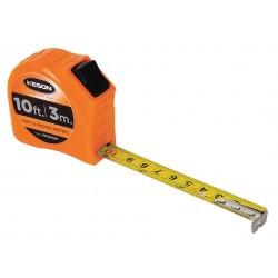 Keson - PGT18M10V - 10 ft./3m Steel SAE/Metric Tape Measure, Orange