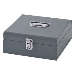 Buddy Products - 0518-1 - Cash Box, 7 Compartments, Gray