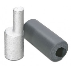 Burndy - AYPO250 - Burndy AYPO250 Terminal Plug, Copper, 250 MCM, Offset, CU/AL Rated
