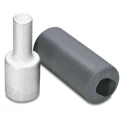 Burndy - AYP4 - Burndy AYP4 Terminal Plug, Aluminum, 4 MCM, AL/CU Rated