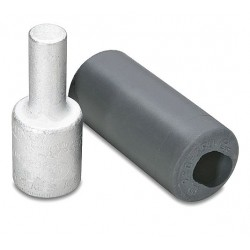 Burndy - AYP6 - Burndy AYP6 Terminal Plug, Aluminum, 6 AWG, AL/CU Rated