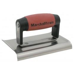 Marshalltown Trowel - 136D - Hand Edger, 6 x 3 In, 3/8 In Radius, Steel