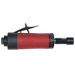Chicago Pneumatic - CP3000-418R - Rear Exhaust Straight Air Die Grinder, 1/4 Collet, 18, 000 rpm Free Speed, 0.40