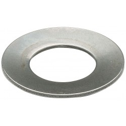 Associated Spring - B0281010 - Disc Spring, 0.138, Steel, Belleville, PK10