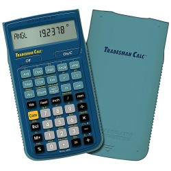 Calculated Industries - 4400 - Tradesman Calculator, Portable, LCD
