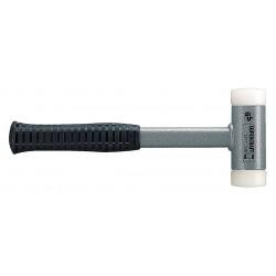 Halder - 3377.025 - Dead Blow Hammer, 14 oz. Head Weight, Rubber over Steel Handle Material