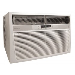 Frigidaire - FFRE25332 - 208/230 Window Air Conditioner, 24, 700/25, 000 BtuH Cooling, Gray, Includes: Pleated Quick Mount Wind
