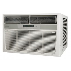 Frigidaire - FFRH12222 - 208/230V Electric Window Air Conditioner w/Heat, 11, 600/12, 000 BtuH Cooling, Includes: Pleated Quick
