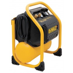 Dewalt - DWFP55130 - 1.10 HP, 115VAC, 2.5 gal. Portable Electric Oil-Free Air Compressor, 200 psi