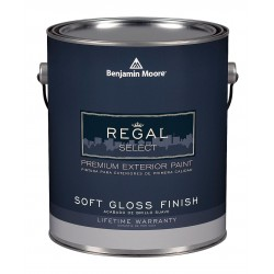 benjamin moore n4033x001cc1103 exterior paint soft gloss 1 gal. Black Bedroom Furniture Sets. Home Design Ideas