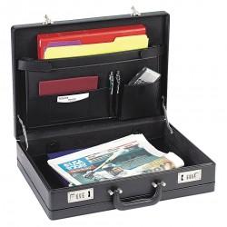 Sola - USLK854 - Briefcase, Black, Vinyl