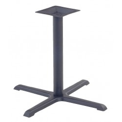 Virco - 66833BLK03 - Cafe Base, Height: 27-7/8