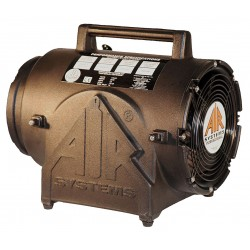 Air Systems - CVF-8X220 - Axial Confined Space Fan, 1/3 HP, 220VAC Voltage, 1725/1450 rpm Blower/Fan Speed