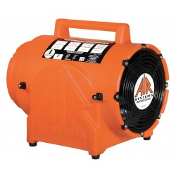Air Systems - CVF-8AC50 - Axial Confined Space Fan, 1/4 HP, 220VAC Voltage, 2850 rpm Blower/Fan Speed