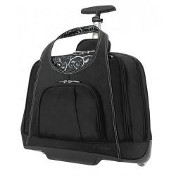 Kensington - K62533USA - Black, Manmade Fiber Roller Laptop Bag, Fits Notebooks up to 15.4
