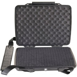 Pelican - 1075 - Pelican 12.38 X 9.75 X 2.13 Black ABS HardBack Case (For Use With IPad, IPad2 And Netbooks, ( Each )