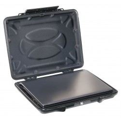 Pelican - 1085CC - Pelican .17 cu ft 15.64 X 12.41 X 2 1/2 ABS HardBack Case With Laptop Line, ( Each )