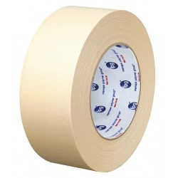 Intertape Polymer - PG5...129G - Masking Tape, 60 yd. x 1-1/2, Natural, 6.30 mil, Package Quantity 24