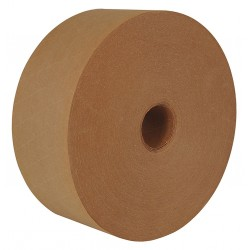 Intertape Polymer - K8069G - 137m x 70mm Fiberglass Reinforced Paper Water-Activated Packaging Tape, Natural