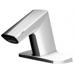 Sloan Valve - EFX650.002.0000 - Zinc Die Cast Bathroom Faucet, Sensor Handle Type, No. of Handles: 0