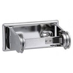 Taymor - 01-F1015 - Toilet Paper Holder, Double Post, Silver
