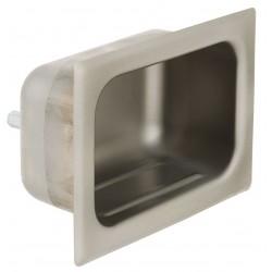 Bradley - SA16-600000 - 2-3/4 x 9 x 3 Satin Soap Dish