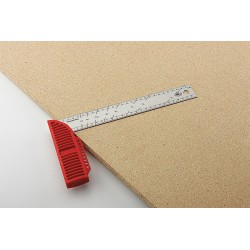 Affinity Tool Works - 531012 - Bora 531012 12-Inch Molded Polymer Handle Stainless Steel Ruler Square