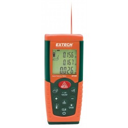 Extech Instruments - DT200 - Laser Distance Meter 115 ft. Max. Distance, 3/32 Accuracy