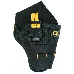 CLC (Custom Leather Craft) - 5021 - Cordless Impact Driver Holster, Black Polyester, 10 Height, 5-3/4 Width, 3 Depth