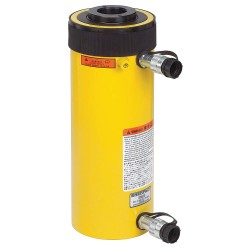"Enerpac - RRH10010 - Double Acting Hollow Steel Hydraulic Cylinder, 10-1/8"" Stroke Length"