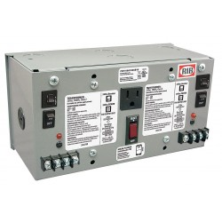 Functional Devices - PSH100A100AB10 - Class 2 Transformer, (2) 100 VA Rating, 120VAC Input Voltage, 24VAC Output Voltage