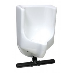 Waterless - 2004B - Waterless Wall Urinal, 0 Gallons per Flush, 28H x 18W, White