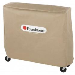 Foundations - 97NNT2 - Nylon Crib Cover, Tan; PK1