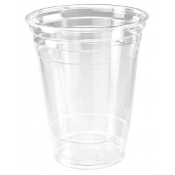 Dart Container - 16PX - 16 oz. Disposable Cold Cup, Plastic, Clear, PK 1000