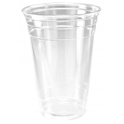 Dart Container - 20PX - 20 oz. Disposable Cold Cup, Plastic, Clear, PK 600