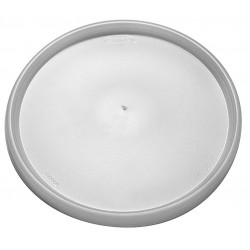 Dart Container - 4JL - 4 oz. Plastic Flat Cold Cup Lid, Clear; PK1000