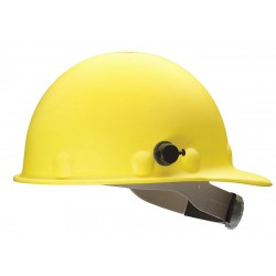 Fibre-Metal - P2HNQRW02A000 - Front Brim Hard Hat, 8 pt. Ratchet Suspension, Yellow, Hat Size: Universal