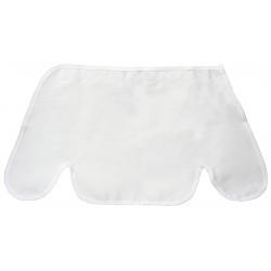 Fibre-Metal - FMSS1WE - Sun Shield, Shields Skin from Sun's Harmful Rays, Cotton, White