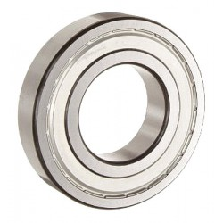 SKF - 6208 2Z JEM - Radial Ball Bearing, Shielded Bearing Type, 40mm Bore Dia., 80mm Outside Dia.