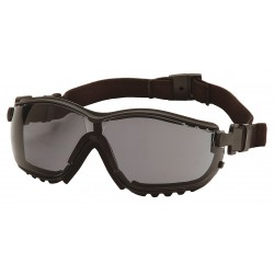 Pyramex - GB1820ST - Anti-Fog, Anti-Static, Scratch-Resistant Dust Goggle, Gray Lens Color