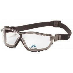 Pyramex - GB1810STR20 - Clear Anti-Fog Bifocal Safety Reading Goggles, 2.0 Diopter