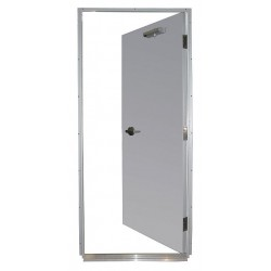 Securall Cabinets - HDQM18-36X84-1.5-PRH - Steel Door, Mortise, LHR, 36 x 84 In.