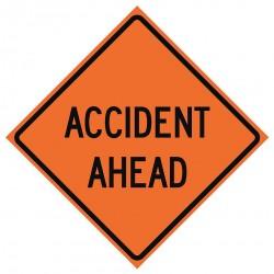 Usa-sign - 669-C/48-EMO-AA - Road Traffic Control, No Header, Mesh, 48 x 48