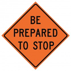 Usa-sign - 669-C/36-DGFO-BP - Road Traffic Control, No Header, Vinyl, 36 x 36, Diamond